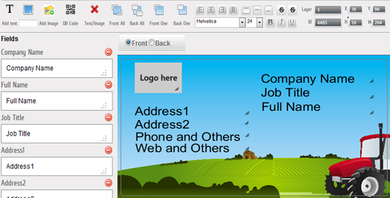 Online Designer – Interactive editor - Web To Print and Print MIS Software