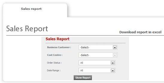 Reporting - Web To Print and Print MIS Software