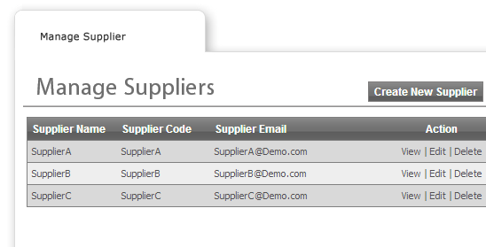 Supplier Interfaces / Vendor - web to print Ireland and Print MIS Software